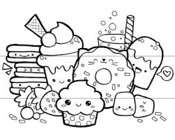 Cartoon Drawing Of Food At GetDrawings