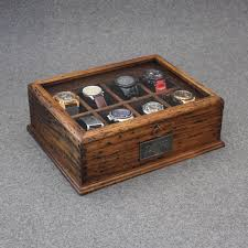 Mens Dresser Valet With Charger treviso leather valet box and ten watch display case engravable