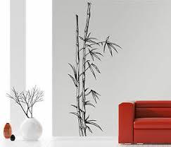 details zu bambus strauch stamm asien china badzimmer wohnzimmer wandaufkleber wandtattoo