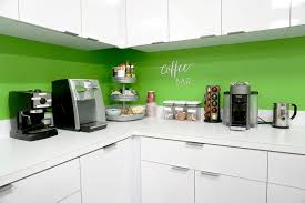Coffee Bar Keurig Nespresso And An Espresso Machine