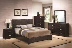 Black Leather Headboard Single by Bedroom Simple Single Natural Wood Nightstand Table Simple Black