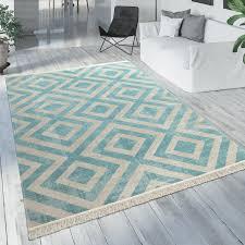 details about outdoor rug blue white balcony terrace pattern scandinavian design