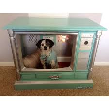 tiffany and company inspired dog bed dog house made from vintage