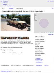 100 Craigslist South Bay Cars And Trucks For 9000 This 1986 Toyota Custom Cab Pickup Could Be Your Long Game