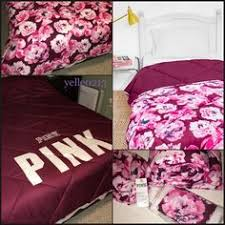 Victoria Secret Pink Bedding Queen by New Vs Pink Bed In A Bag Twin Twin Xl Palm Print Nwt Palm Print