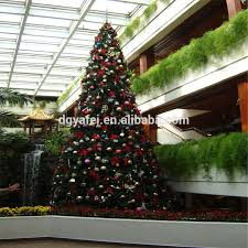 Branches Type Christmas Tree With Fiberglass Trunk