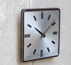 Square Large Wall Clocks Contemporary Decorative Intended