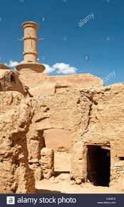 Pictures Of Adobe Houses by Desert Near Yazd Iran With Adobe Houses Stock Photo