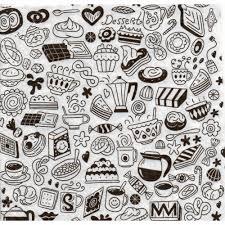 5 servietten motivservietten kleine motive schwarz weiß küchen motive sonstige motive s 342