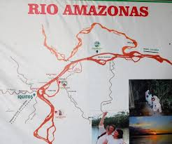 Amazon River Locating Iquitos And The Cumaceba Lodge