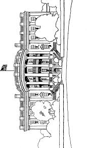White House Coloring Page Book