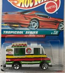 Hot Wheels Ice Cream Truck Tropicool Series 18775 | EBay