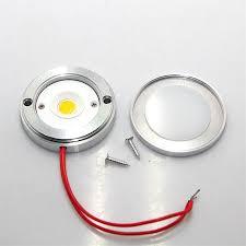 dhl fedex free shipping bright 6w cob led puck light cree