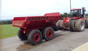 40 Ton Dump Trailer Available For SALE Or For RENT!