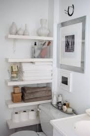 Astounding Small Bathroom Shelves Ideas Shelving Without Sinks ... Small Space Bathroom Storage Ideas Diy Network Blog Made Remade 15 Stunning Builtin Shelf For A Super Organized Home Towel Appealing 29 Neat Wired Closet 50 That Increase Perception Shelves To Your 12 Design Including Shelving In Shower Organization You Need To Try Asap Architectural Digest Eaging Wall Hung Units Rustic Are Just As Charming 20 Best How Organize Tiny Doors Combo Linen Cabinet