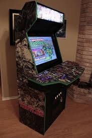 Mame Cabinet Plans 4 Player by Custom Tmnt Arcade Arcade Tmnt And Gaming