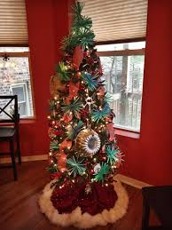 This Funkily Decorated Tree Definitely Makes A Statement I Thought It Seemed Appropriate To Decorate The With Items That Are Found In Kitchen
