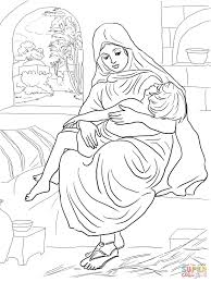 Prophet Elisha Coloring Pages In And The Widow Page