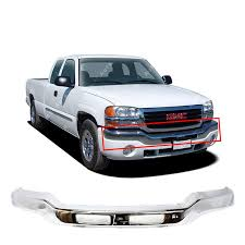 100 2004 Gmc Truck Amazoncom MBI AUTO Chrome Steel Front Bumper Face Bar For 2003