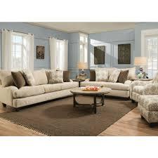 Fawn Living Room Sofa & Loveseat 552 Living Room Furniture