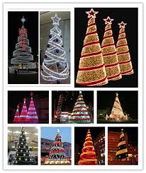 6ft Lighted Spiral Christmas Tree by Newest Style Holiday Street Decoration Lighted Outdoor Wire