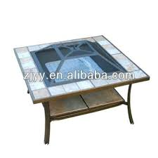 tile pit table bar table tile top pit table
