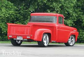 100 Ford Trucks Accessories 1957 F100 Stepside 57 Truck And
