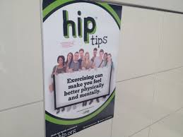 These Posters Advertise The Program But Also Offer Health Tips To Students Who Might Not