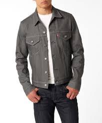 levi u0027s trucker jacket in gray i love it for men or women a