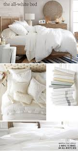 All White Bedding | Pottery Barn | The Insides (Bedroom ... Bedroom Design Magnificent Pottery Barn Bedrooms The Ultimate White Ana Kingsize Stratton Bed Diy Projects All Bedding A Restful Bedroom Treat Ahhh Fair Image Of Decoration Using Metal Cool Home Creations Look For Less Canopy West Elm Elegant 9 Inspiring Blue Rooms Urban Chelsea Leather Fniture Bayfront Full Lounge Living Spaces Interactive And