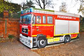 Art-EFX-Substation As Mini Fire Truck In Ronnenberg, #artefx ...