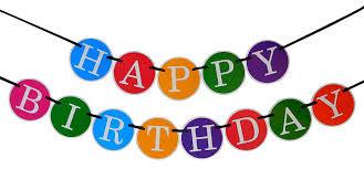 Amazon Happy Birthday Banner