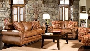 Sofa Good Looking Rustic Leather Set Living Room Furniture