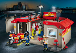 100 Playmobil Fire Truck Take Along Station 5663 PLAYMOBIL USA