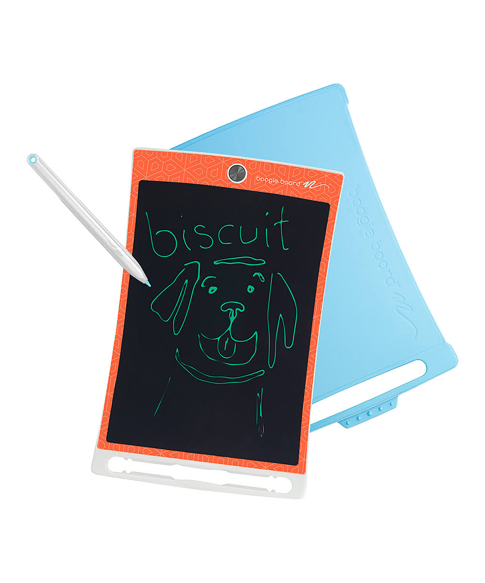 Boogie Board Jot Kids - Orange with Blue Cover