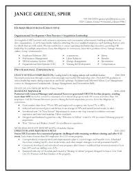 Sample Resume For Human Resource Assistant Resumes Hr Fresh Graduate Manager Samples