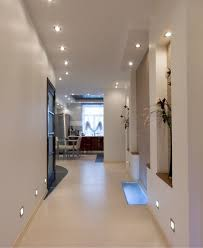 modern ceiling light fixtures for hallways with recessed floor