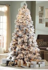 Hayneedle Flocked Christmas Trees by Lovely Idea 7 5 White Christmas Tree Imposing Design Ft Flocked