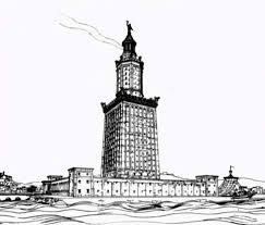 Egypt Worldwonders Lighthouse Of Alexandria Coloring Pages