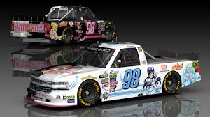 100 Nascar Truck Race Results So I Made This Itasha For My NASCAR Racing 2003 Offline Series