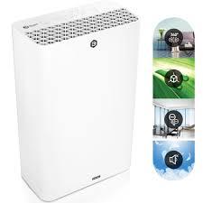 balter lr 01 luftreiniger 4 fach filter mit hepa h13 99 97 filterleistung cadr 230m h ionisator bis zu 42m2 schlafmodus leise ideal für