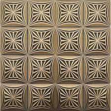 painted polystyrene foam ceiling tiles retro 81 black gold