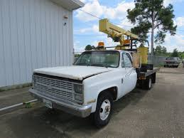 100 Truck Auctions In Texas Lot 98TX42 1984 Chevrolet C30 Boom VanderBrink