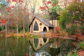 Callaway Gardens in the Fall at the chapel Georgia