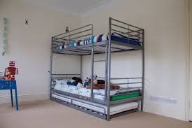 ikea svarta bunk bed and under bed trundle includes three