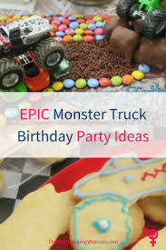 Epic Monster Truck Birthday Party Ideas - The Multitasking Woman Monster Truck Birthday Cake Lou Girls An Eventful Party 5th Third Birthday 20 Luxury Firetruck Ideas Images Birthday Zone Mr Vs 3rd Part Ii The Fun And At In A Box Possibilities Supplies Wwwtopsimagescom Diys Crafts Recipes Pinterest Jam Birthdayexpresscom Invitation Invitations Casaliroubinicom