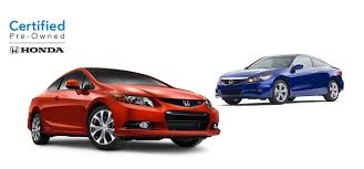About Honda Certified Pre Owned