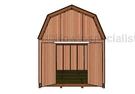 12x16 Gambrel Shed Kits by 12x16 Barn Shed Doors Plans Howtospecialist How To Build Step