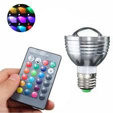 best price color changing led l bulb e27 b22 gu10 e14 5w