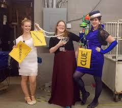 Clue Game Halloween Costumes Using Goodwill Finds